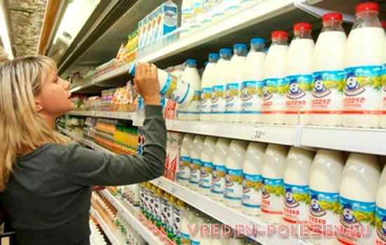 Покупайте молоко только в надежных местах