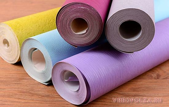 Обои из флизелина являются безопасным и нетоксичным материалом, так как состоят на 70% из бумаги