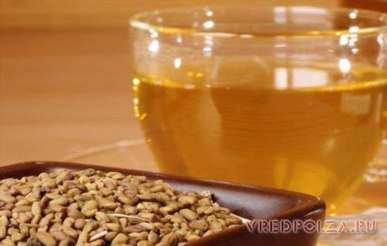 Оздоровительный чай из хельбы поможет при восстановлении организма после операций и родов