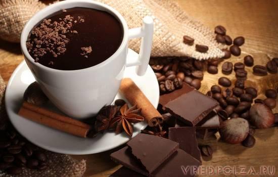 Кофе и шоколад: ученые выяснили, вредны или полезны данные.