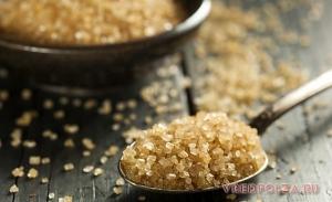 Тростниковый сахар: польза и вред
