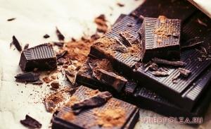 Горький шоколад: польза и вред