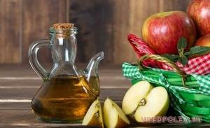 Яблочный уксус ‒ польза и вред