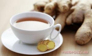 Имбирный чай: польза и вред для мужчин и женщин